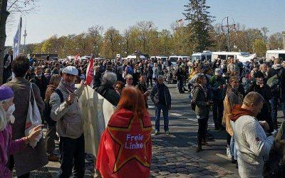 Demo-Bericht Berlin 21.04.2021: Der Tag, an dem die Demokratie endgültig von der Regierung abgeschafft wurde