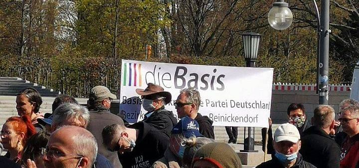 Berlin Demo 21 April 2021