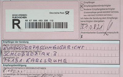 Verfassungs-beschwerde –  alle Zweitstimmen der Grünen bei der Bundestagswahl ungültig? Bundesverfassungs-gericht in der Zwickmühle
